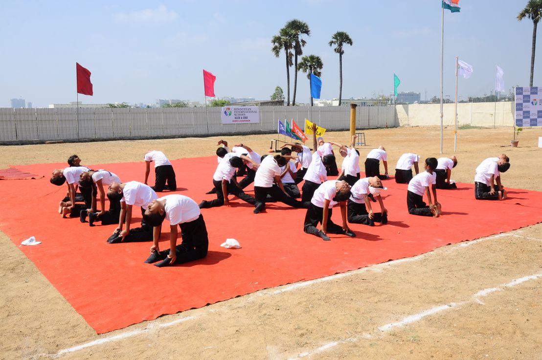 oki international school sports meet