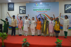 Republic Day Celebration in Guindy Campus