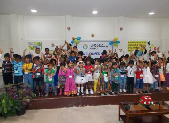 Universal Children's Day Celebration at HIS Guindy