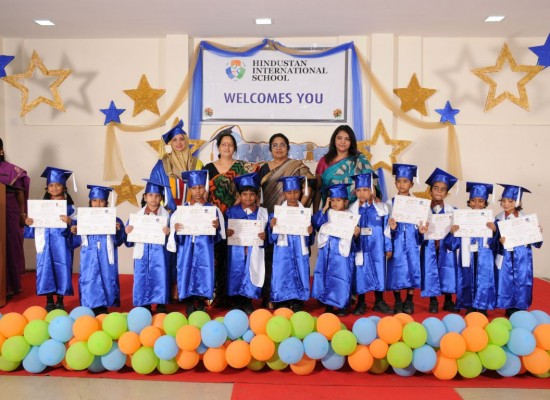 Hindustan International School Graduation day of Senior KG