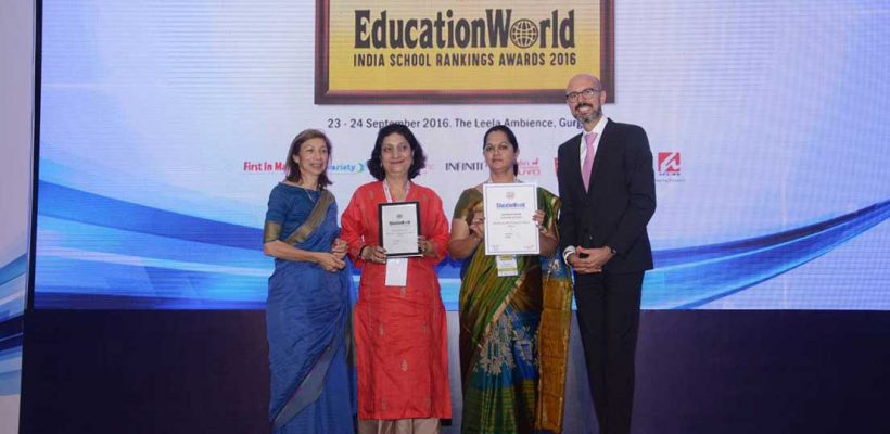 Education World India School Rankings 2016