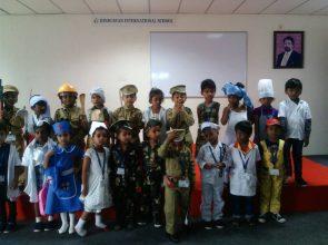 Community Helpers:  jr.kg