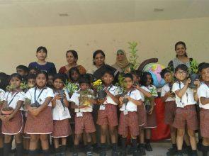 Sr KG Earth day celebration